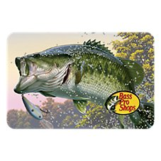 Bass Pro Shops Fishing Gift Card