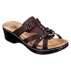 3e385b9fb4d Natural Reflections Aleisha Wedge Sandals for Ladies