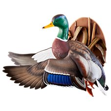 Wild Wings Flying Mallard Wall-Mount Decoy Sculpture by Sam Nottleman