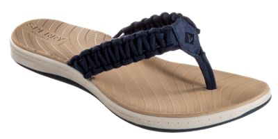 2a35b07a7105 Sperry Seabrook Current Sandals for Ladies Navy 65M