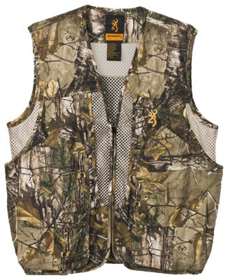 Browning Upland Game Vest for Men - Realtree Xtra - S thumbnail
