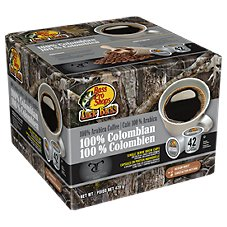 Bass Pro Shops Uncle Buck's 100% Colombian Single Serve Coffee Brew Cups