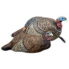 RedHead Reality Series Breeding Pair Turkey Decoy Combo