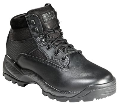 511 Tactical ATAC 6 Side Zip Tactical Boots for Ladies Black 10M