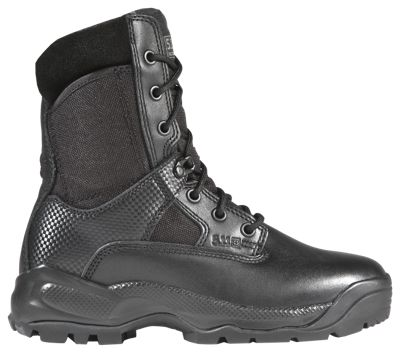 511 Tactical ATAC 8 Side Zip Tactical Boots for Ladies Black 10M
