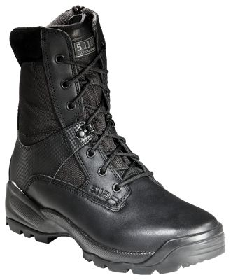 511 Tactical ATAC 8 Side Zip Tactical Boots for Men Black 12M