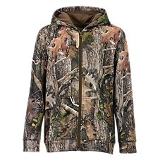 RedHead Tech Fleece Full Zip Camo Jacket for Youth