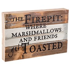 Sweet Bird & Co. The Firepit Wood Sign