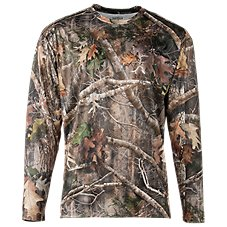 RedHead TrueTimber Kanati Wicking Long-Sleeve Shirt for Men with SCENTINEL