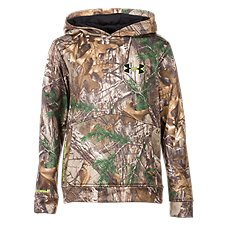 Under Armour Camo Logo Hoodie for Youth