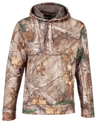 cca8184d6 Under Armour Icon Camo Hoodie for Men Realtree Xtra S
