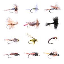 White River Fly Shop 12-Piece Classic Trout Fly Assortment