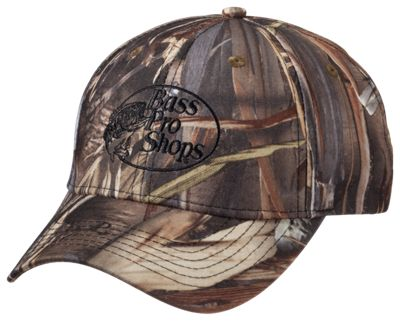 Bass Pro Shops Camo Tonal Logo Cap for Men - TrueTimber DRT thumbnail