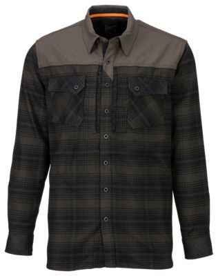 511 Tactical Sidewinder Flannel Shirts for Men Grenade L