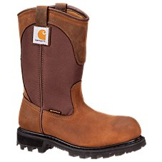 Carhartt 10'' Waterproof Steel Toe Wellington Work Boots for Ladies