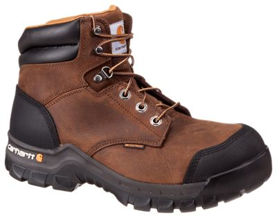9fff9204540 Carhartt 6'' Rugged Flex Waterproof Safety Toe Work Boots for Men