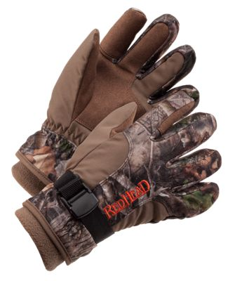 28d1fbf57e5 RedHead Caliber Waterproof Insulated Gloves for Youth TrueTimber ...