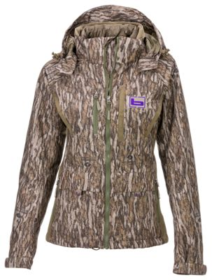 Banded White River Jacket for Ladies - Mossy Oak Bottomland - 2XL thumbnail