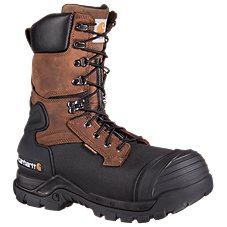 Carhartt 10'' Safety Toe Waterproof Insulated Pac Boots for Men