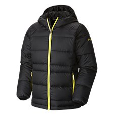 Columbia Gold 550 TurboDown Hooded Down Jacket for Boys