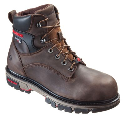 c0d3506fb7e Wolverine Nation Waterproof Safety Toe Work Boots for Men