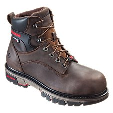 Wolverine Nation Waterproof Safety Toe Work Boots for Men