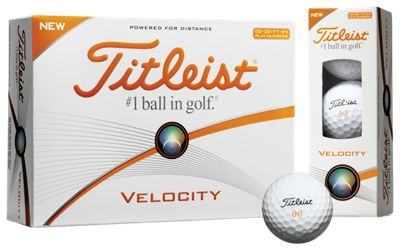 Titleist Velocity Double-Digit Golf Balls 2016 - 12-Pack