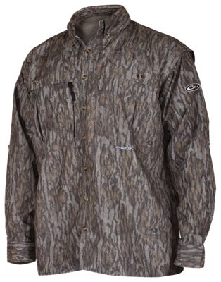 Drake Waterfowl EST Vented Wingshooter's Long-Sleeve Shirt for Men