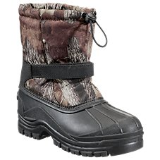 RedHead Snowboard Insulated Camo Pac Boots for Kids