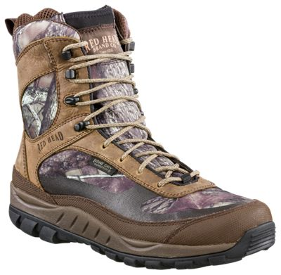 0dd21230b56 RedHead Fast Tracker BONE DRY Waterproof Hunting Boots for Men ...