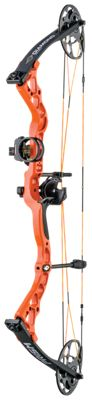 Diamond by Bowtech Prism Compound Bow Package – Right Hand – Bright Orange