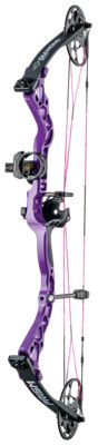 Diamond by Bowtech Prism Compound Bow Package – Right Hand – Purple