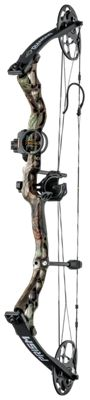 Diamond by Bowtech Prism Compound Bow Package – Left Hand – Mossy Oak Break-Up Country