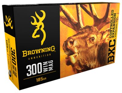Browning Bxc Centerfire Rifle Ammo 20 Rounds .300 Winchester Magnum by USA Browning Gun Ammunition