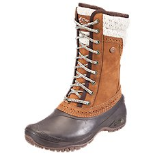 The North Face Shellista II Mid Insulated Waterproof Lace-Up Pac Boots for Ladies