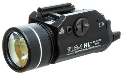 Click here to buy Streamlight TLR-1 HL Tactical Gun-Mount Light.