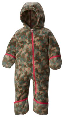 3d89440fe87811 Columbia Snowtop II Bunting for Babies Punch Pink Camo Dots 6 12 Months