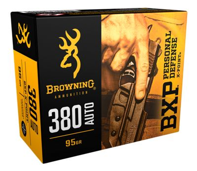 Browning Bxp Personal Defense Handgun Ammo .40 Smith & Wesson by USA Browning Gun Ammunition