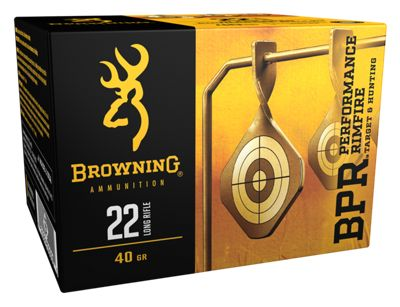 Browning BPR Performance Rimfire Ammo – Lead Hollow Point