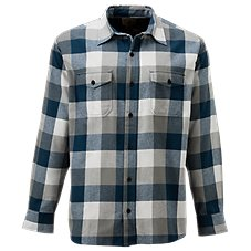 RedHead Bear Creek Plaid Flannel Long-Sleeve Shirt for Men Image