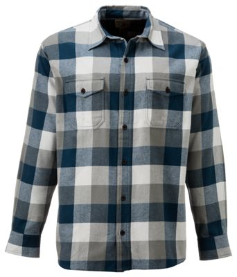 Redhead bear creek plaid flannel long sleeve shirt for men for Redhead bear creek flannel shirt