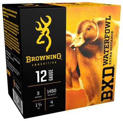 Browning BXD Waterfowl Extra Distance Shotshells