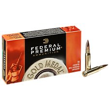 Federal Premium Gold Medal Centerfire Rifle Ammo