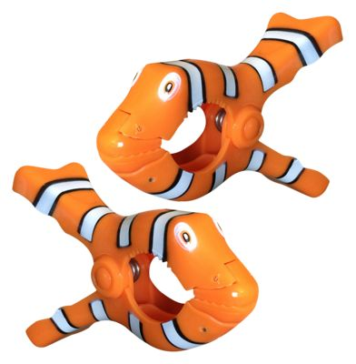 02COOL Clown Fish Boca Clips