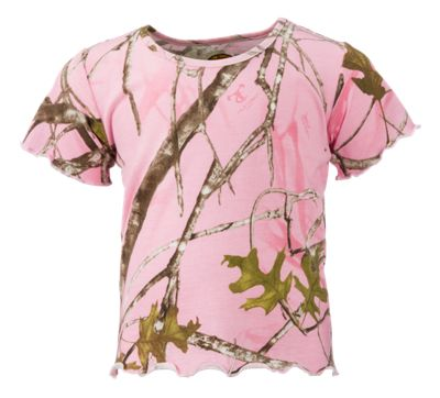 Bass Pro Shops TrueTimber Conceal Pink T-Shirt for Babies or Toddler Girls by