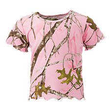 Bass Pro Shops TrueTimber Conceal Pink T-Shirt for Babies or Toddler Girls