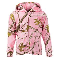 Bass Pro Shops Full-Zip Hooded Jacket for Babies or Toddler Girls