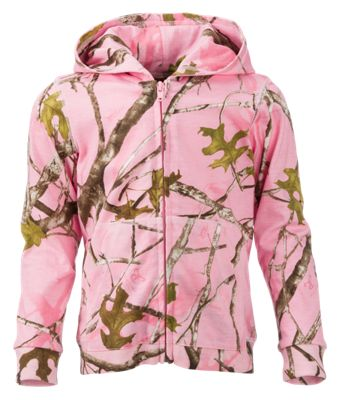 Bass Pro Shops Full-Zip Hooded Jacket for Babies or Toddler Girls thumbnail