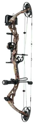 BlackOut Toxik BC Compound Bow Package – Right Hand – TrueTimber Kanati