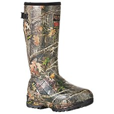 RedHead Guide Insulated Camo Rubber Boots for Men